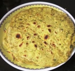 Fenugreek-chappathi