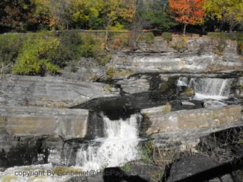 Waterfalls in Ottawa, Ontario