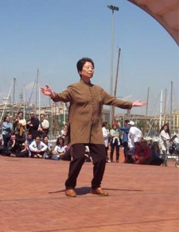 Qigong movements are slow and focused, and are often coordinated with the breathing.  Better breathing leads to better overall health.