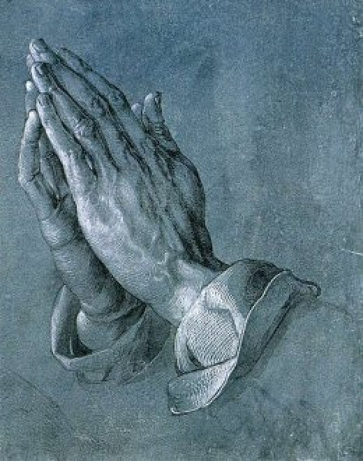 Praying Hands by Albrecht Durer, never unanswered.