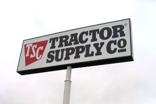 I took a little drive down to the Tractor Supply in Maynardville today -- while wearing a Ralph Lauren polo, khaki shorts, and flip-flops.  Needless to say, I stuck out like a sore thumb.  I will be wearing jeans the next time I go there.