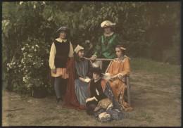 Children in Renaissance Clothing.