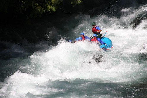 Whitewater Rafting crossed off my Master List. Rafting down the White Salmon River in Washington State with Zoller's Outdoor Odysseys.