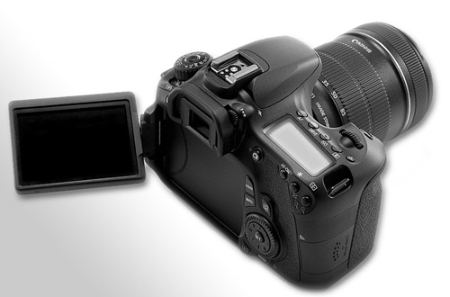 Canon eos 60d with articulating LCD