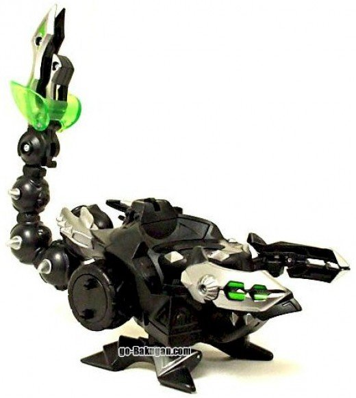 Dharak Colossus Bakugan Toy