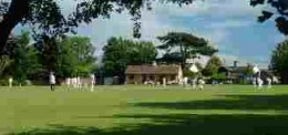 Home of cricket, spiders, and much more.  The venerable Takeley Cricket Field, Herts.