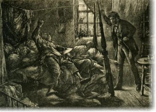 An Illustration from The Mystery of Edwin Drood by Charles Dickens