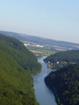S is for Saar a river in France and Germany