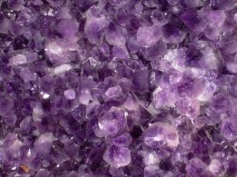 Amethyst, as seen above, has many meanings, one of which is protection.