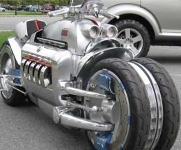 The beast itself - the Dodge Tomahawk