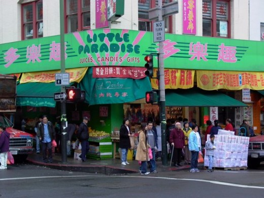 Stockton Street is the real Chinatown. Grant Street is for tourists.