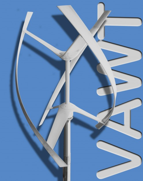 Vertical Axis Wind Turbine (VAWT)