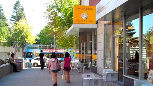 Don't forget to grab a cream puff at Beard Papa's!
