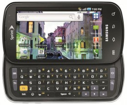 The epic is one of the best cell phones 2010.