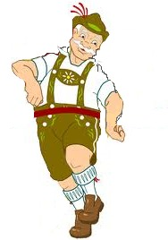 ...the mean 'Lederhosen thief' De Gree-n-ck'... (doesn't he just look shifty and so-so-so evil?)