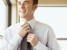 Men can still wear ties to the interview, it's a nice touch.  And smile often!