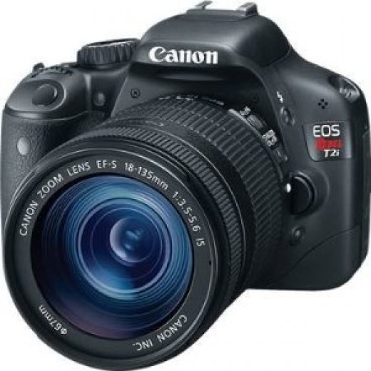 Canon EOS Rebel T2i 18mp digital SLR camera