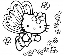 Hello Kitty Coloring Pages Venom Pictures To Pin On Pinterest