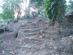 Steps to the river patio