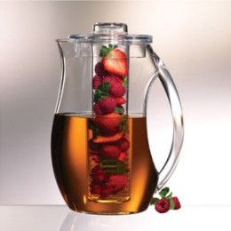 Prodyne Fruit Infusion 92-Ounce Natural Fruit Flavor Pitcher