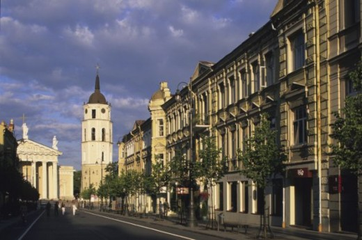 Vilnius, the capital of Lithuania
