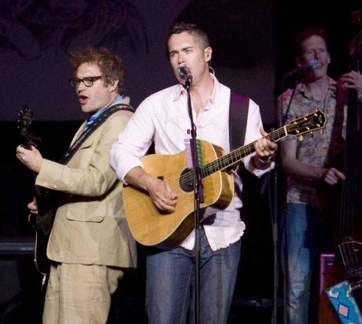 Steven Page (now on his own) and Ed Robertson original anchors of Barenaked Ladies