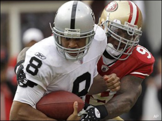 Jason Campbell is certainly no Jim Plunkett when it comes to quarterbacking the Raiders.