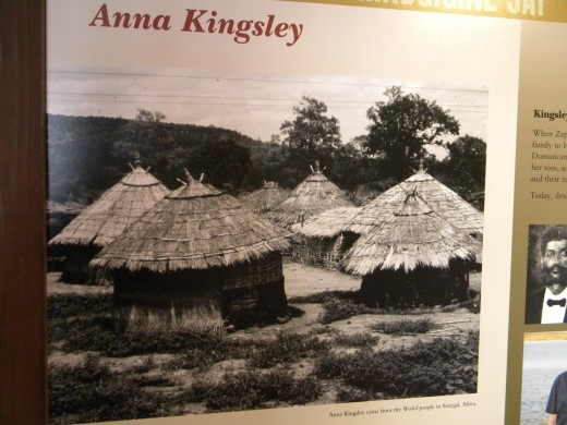 Anna Kingsley came from an African village such as this one