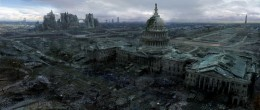 The absolute best thing about Fallout 3 is exploring the D.C. landscape.  Seeing real places in a parallel apocalyptic reality is haunting and exciting. I loved recognizing places in D.C. I had been, it made the game feel extremely real