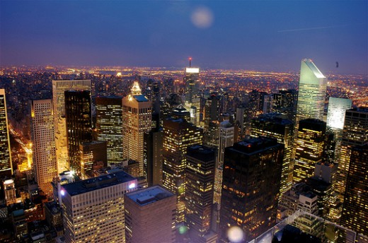 pictures of new york city at night. New York City Night by