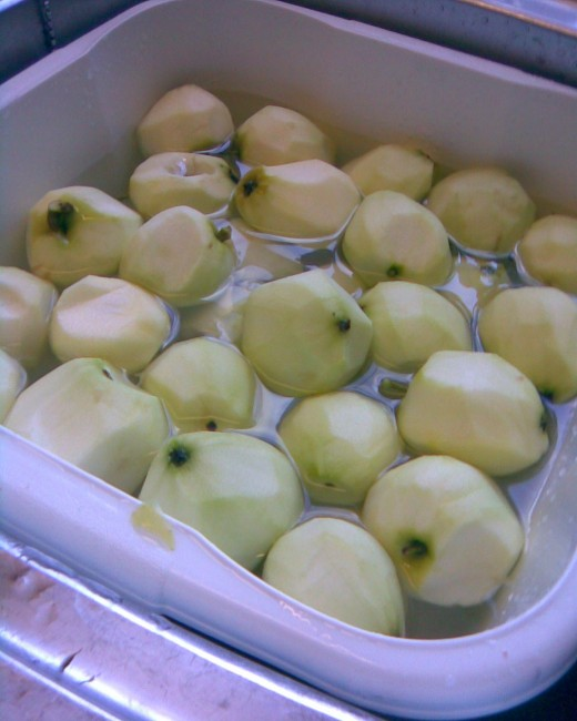 peel apples