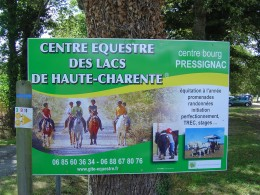The stories were told by the owner of the equestrian centre at Pressignac