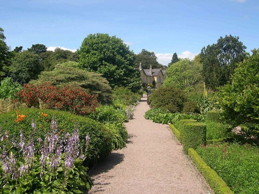Rowallane Garden in Northern Ireland, a National Trust Property