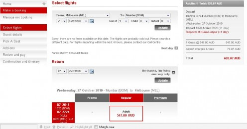 air asia online booking