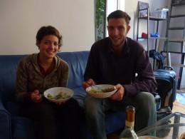 Jeremy (Parisian chef) & Olga