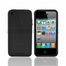 This silicone case is flexible and durable against scratches and damage.