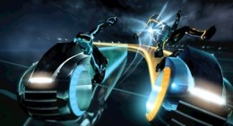 Tron Light Cycle Combat