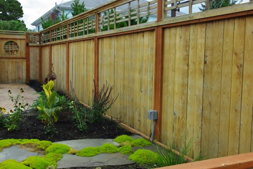 Privacy Fence - Good Neighbor Fence