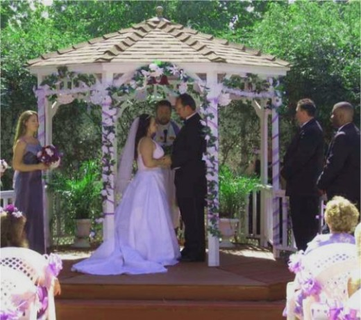 Wedding Gazebos In recent years many people have opted for outdoor wedding