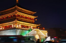 X is for Xi'an an ancient Chinese capitol