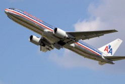 Flying out to California, I went on American Airlines