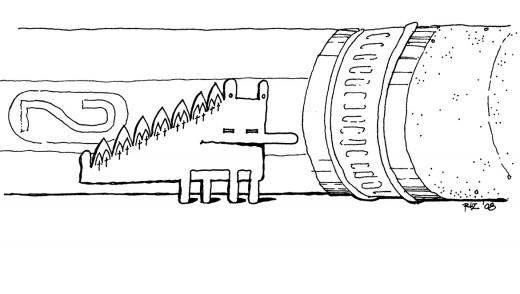 The Gothic minisaur