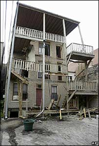 AP Photo of the porch collapse