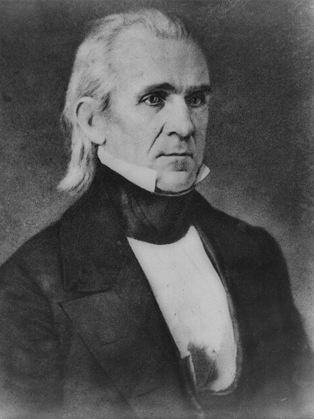 """James """"Kick The Indians And Mexicans Out"""" Polk"""