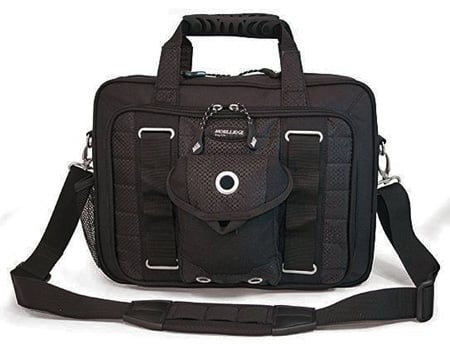 Mobile Edge Netbook Briefcase side-view