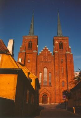 Cathedral, Roskilde, Denmark.