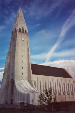 Halgrimskirja, Reykjavik, iceland.