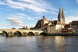 Regensburg, Germany. Photo courtesy of Wikipedia.