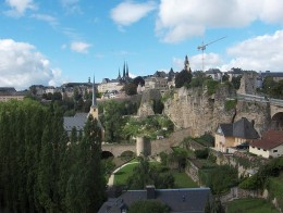 Luxembourg City, Luxembourg. Photo courtesy of Wikipedia.