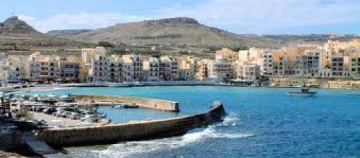 Marsalforn Gozo, Malta